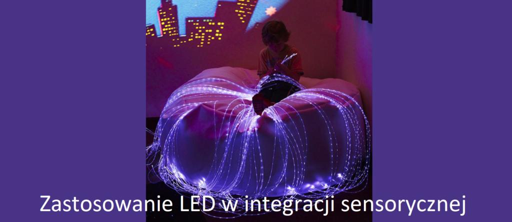 Zastosowanie LED w integracji sensorycznej